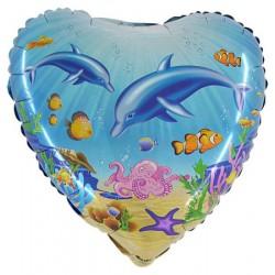 Ballon coeur dauphin (épuisé)