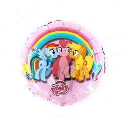 Ballon coeur pony's