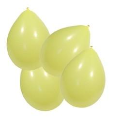 Ballons globos 100 pièces ivoire