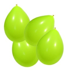 Ballons globos 100 pièces jaune