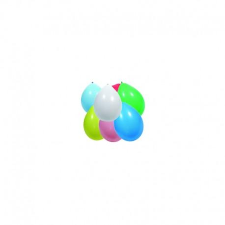 Ballons globos 100 pièces blancs