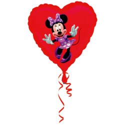 Ballon coeur mickey