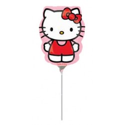 Ballon tige hello kitty