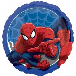 Ballon rond spiderman