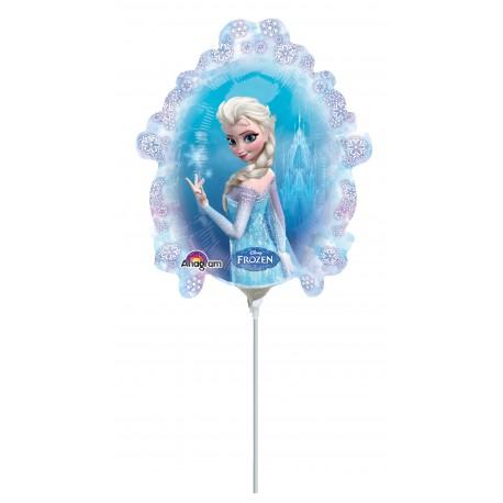Ballon tige reine des neiges miroir