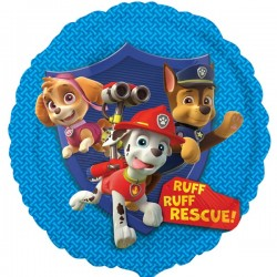 Ballon rond paw patrol group