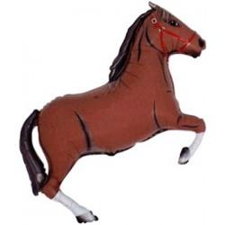 Ballon cheval brun foncé