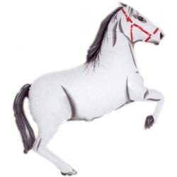 Ballon cheval blanc