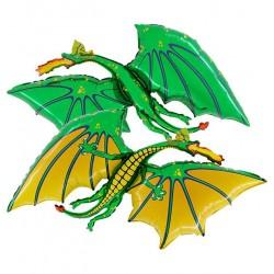 Ballon dragon vert